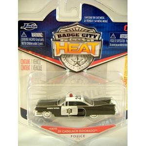 Jada Badge City Heat - 1959 Cadillac Eldorado Police Car