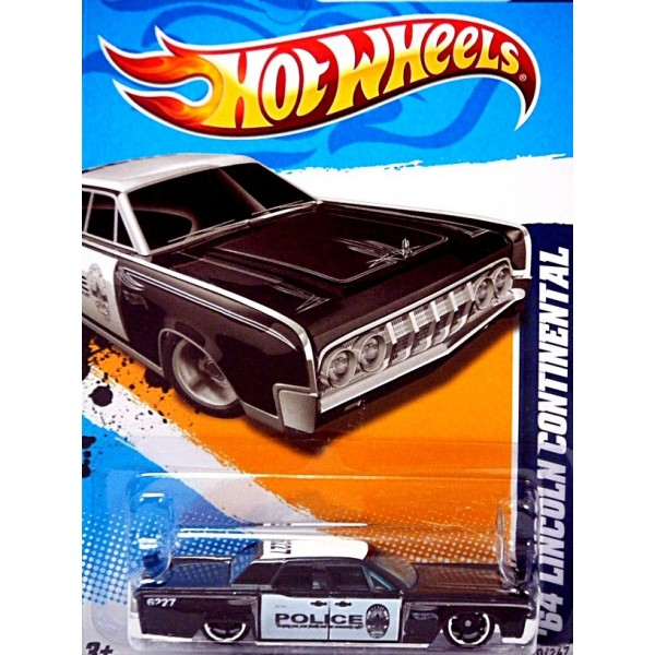 All American Chevy >> Hot Wheels 1964 Lincoln Continental Police Car - Global