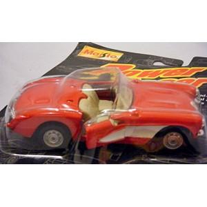Maisto Power Racer Series - 1957 Corvette Convertible