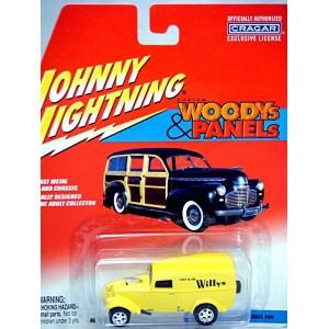 Johnny Lightning Woodys and Panels - 1933 Willys Panel Van