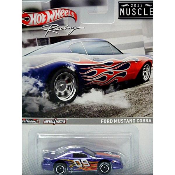 Hot Wheels Racing 2012 Muscle Series Ford Mustang Cobra
