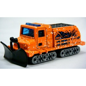 Matchbox Snow Groomer Rescue Vehicle (ROW Version)