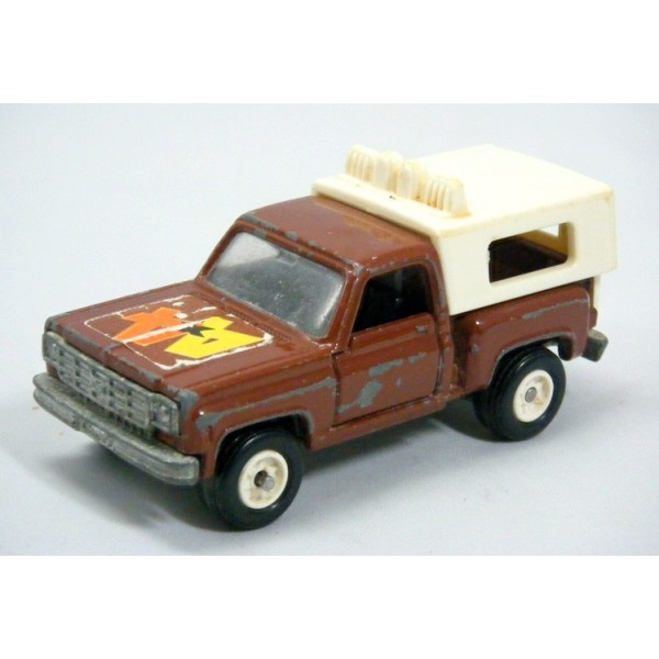 Chevrolet Pickup Truck With Camper