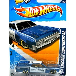 Hot Wheels 1964 Lincoln Continental Police Car