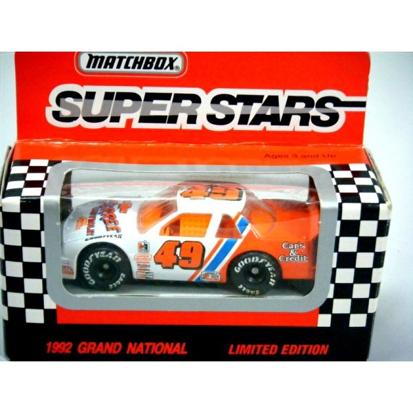 Matchbox Super Stars NASCAR Ferree Chevrolet Lumina Stock ...