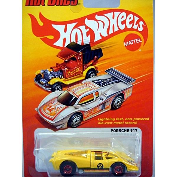 Hot Wheels 1:64 Porsche 917 The Hot Ones DieCast Vehicle W3801 for sale online