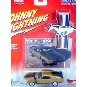 Johnny Lightning Mustang Series - 1970 Ford Mustang Boss 302