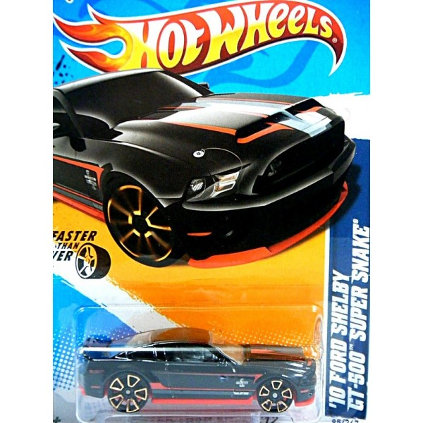 Hot Wheels 2010 Ford Shelby GT500 Super Snake FTE Wheels
