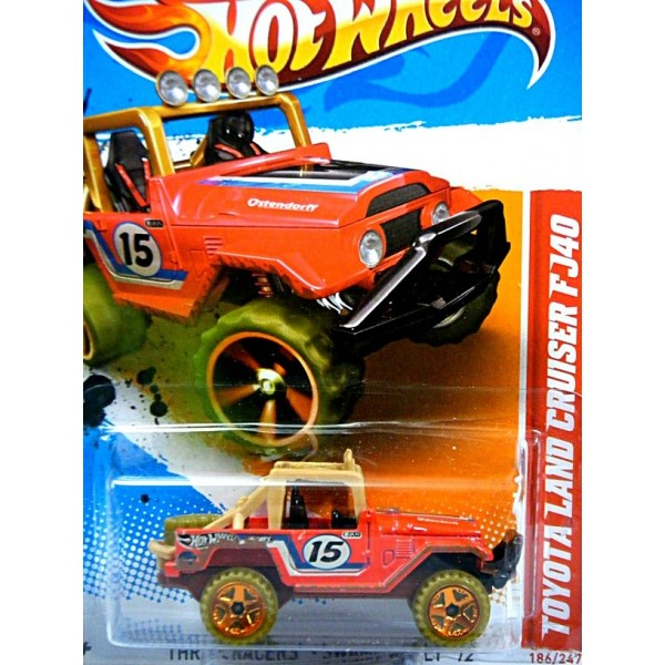 El Monte Toyota >> Hot Wheels - Toyota Land Cruiser FJ 40 Offroad Race Truck - Global Diecast Direct