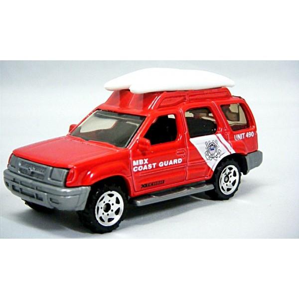 Matchbox Nissan Xterra Coast Guard Truck Global Diecast Direct