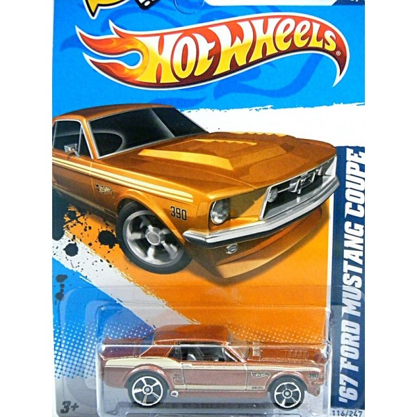 Vintage Chevy Camaro >> Hot Wheels - 1967 Ford Mustang Coupe - Global Diecast Direct