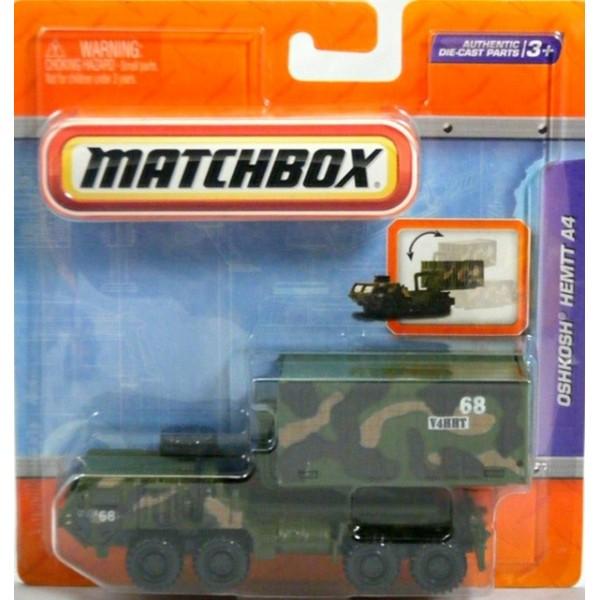 Matchbox Working Rigs Military Oshkosh Hemtt A4 Global