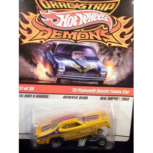 Hot Wheels Dragstrip Demons Rough and Tumble Plymouth Duster Funny Car