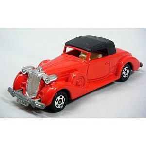 Tomica Pocket Cars - 1937 Packard Coupe Roadster