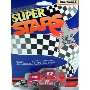 Matchbox Super Stars Bill Elliott Signature Thunderbird