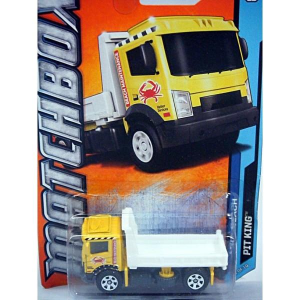 Matchbox Flatbed Tow Truck