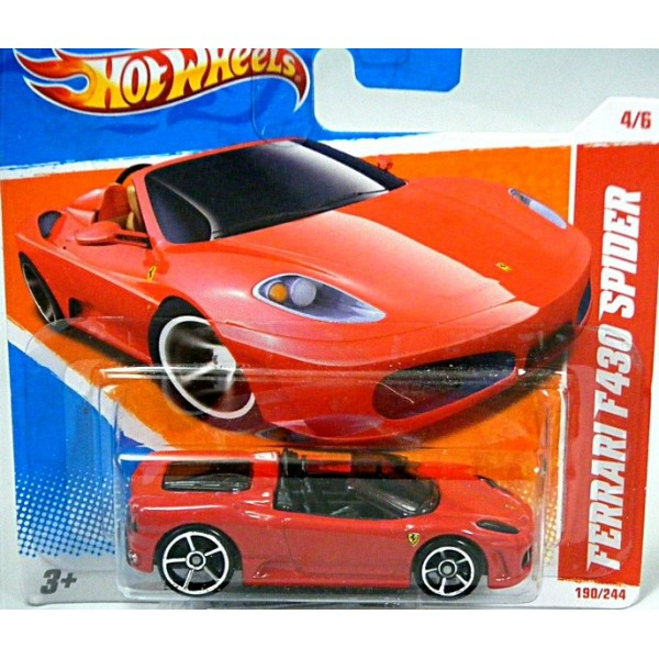File Ferrari F430 Scuderia Wheel Jpg: Hot Wheels Ferrari F430 Spider