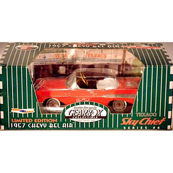 Gearbox Collectibles 1957 Chevrolet Belair Convertible Pedal Car Global Cast Direct