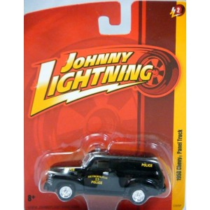 Johnny Lightning Forever 64 R-2: 1950 Chevrolet Police Paddy Wagon