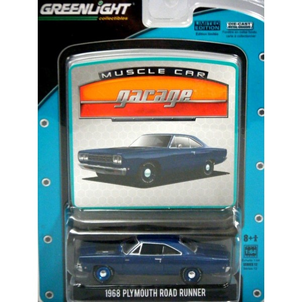 Greenlight Muscle Car Garage 1968 Plymouth Road Runner Global