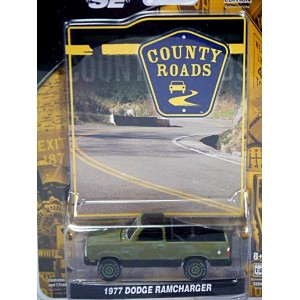 Greenlight County Roads - 1977 Dodge Ramcharger Camoflaged