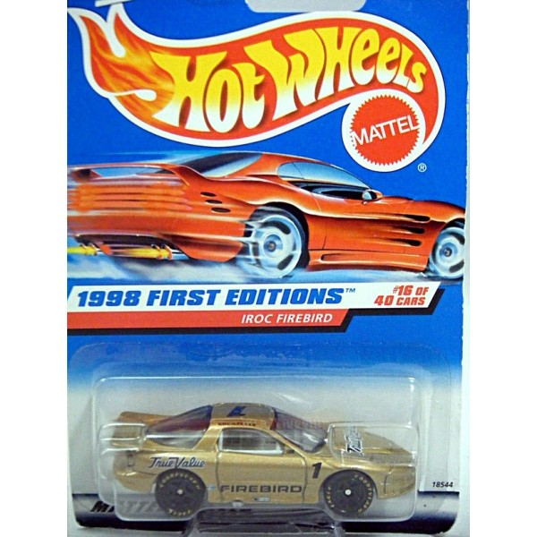 Hot Wheels 1998 First Edition Series Nascar Iroc