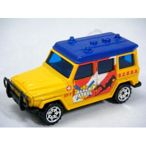 Matchbox - Mercedes-Benz 280 GE Lifeguard Beach Patrol Truck