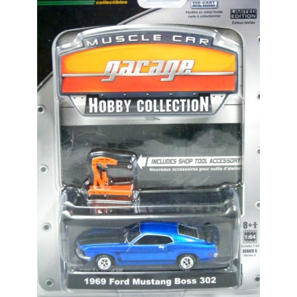 Greenlight Muscle Car Garage Hobby Collection 1969 Ford Mustang