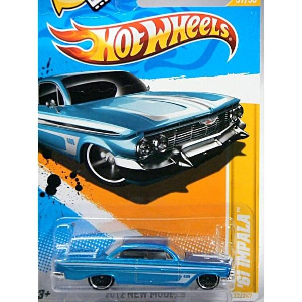 hot wheels 1961 chevrolet impala 409 global diecast direct. Black Bedroom Furniture Sets. Home Design Ideas