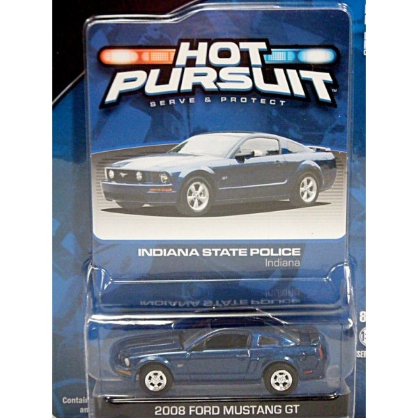 Greenlight Hot Pursuit Indiana State Police Unmarked Ford