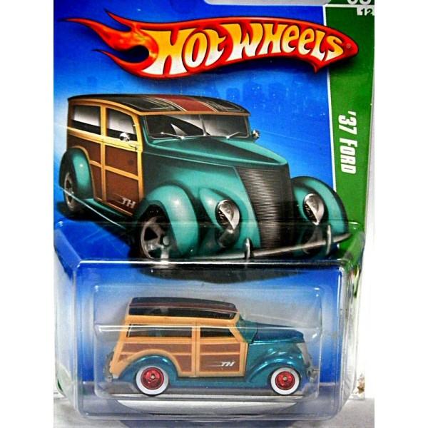 Hot Wheels Super Treasure Hunt - 1937 Ford Woody Station ...