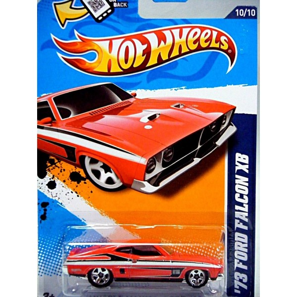 Chevy Muscle Cars >> Hot Wheels 1973 Australian Ford Falcon XB Muscle Car ...