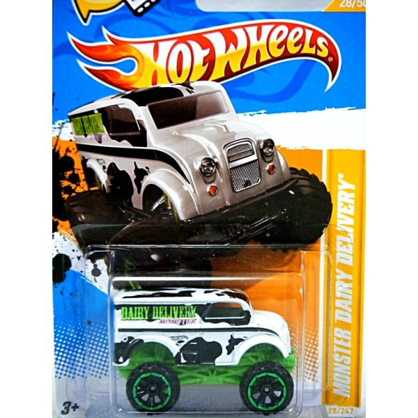 Hot Wheels - Divco Dairy Delivery 4x4 Milk Truck - Global ...