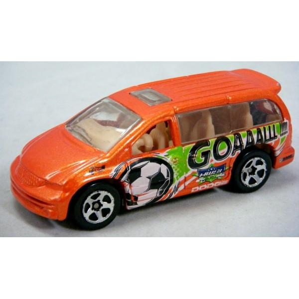 Hot Wheels Dodge Caravan Soccer Mom Minivan on Dodge Caravan