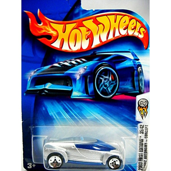 Hot Wheels 2003 First Editions 2002 Gm Autonomy Concept