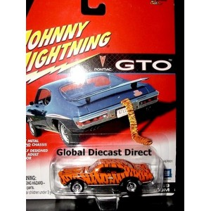 Johnny Lightning GTO Series - 1969 Pontiac GTO Judge
