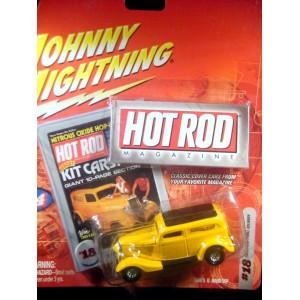 Johnny Lightning Hot Rod Magazine – 33 Ford Sedan Delivery