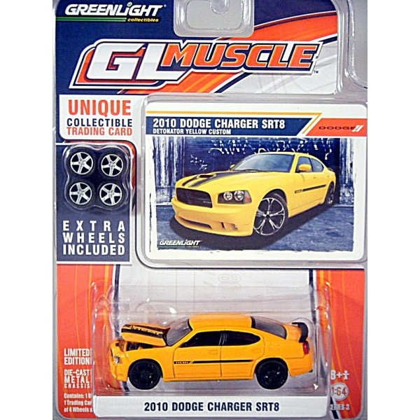 Greenlight Gl Muscle 2010 Dodge Charger Srt8 Global