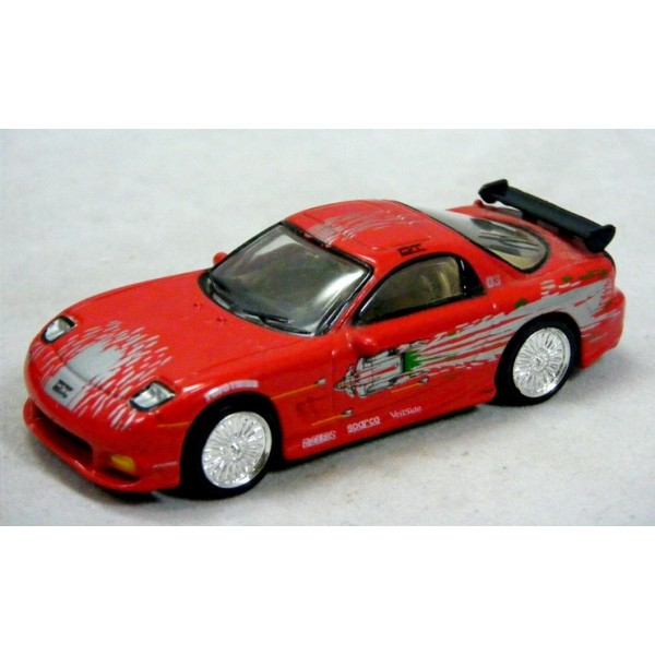 Racing Champions - The Fast & The Furious Series - Mazda RX7 ...