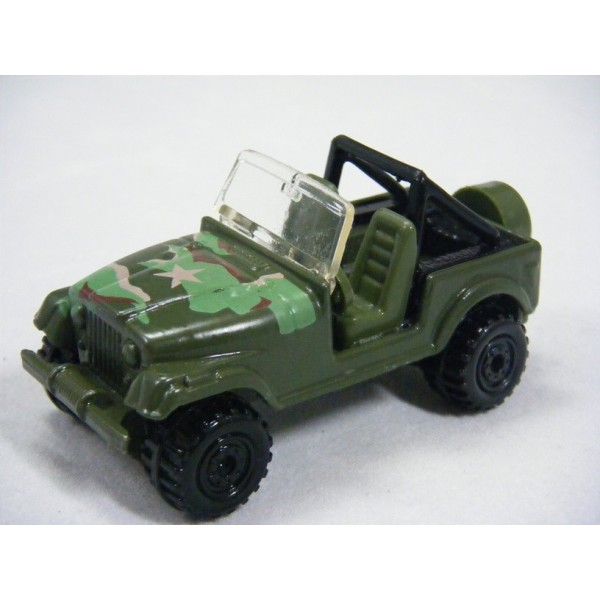 Hot Wheels Action Command Military Jeep Cj 7 Global