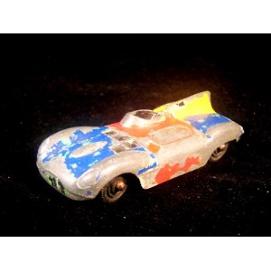 Tootsie Toy Jaguar D Type Race Car