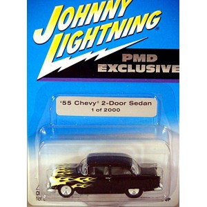 Johnny Lightning Limited Edition 55 Chevy 2 Door Post Hot Rod Promo