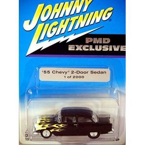 Johnny Lightning Limited Edition 55 Chevy 2 Door Post Hot Rod Promo