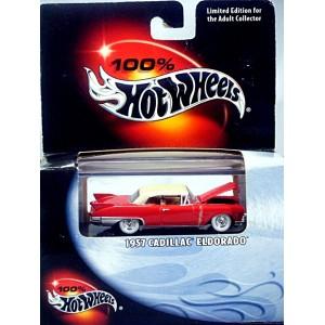 Hot Wheels - 100% Hot Wheels Series - 1957 Cadillac Eldorado