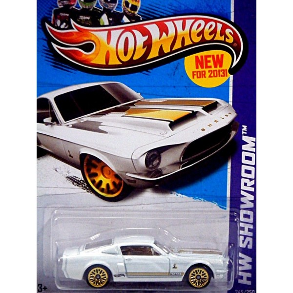 Hot Wheels 1968 Ford Mustang Shelby Gt 500 Global