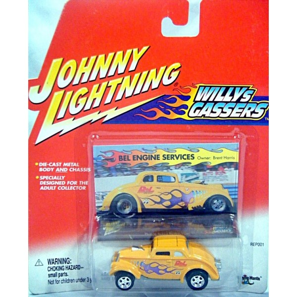 Johnny Lightning Willy's Gassers
