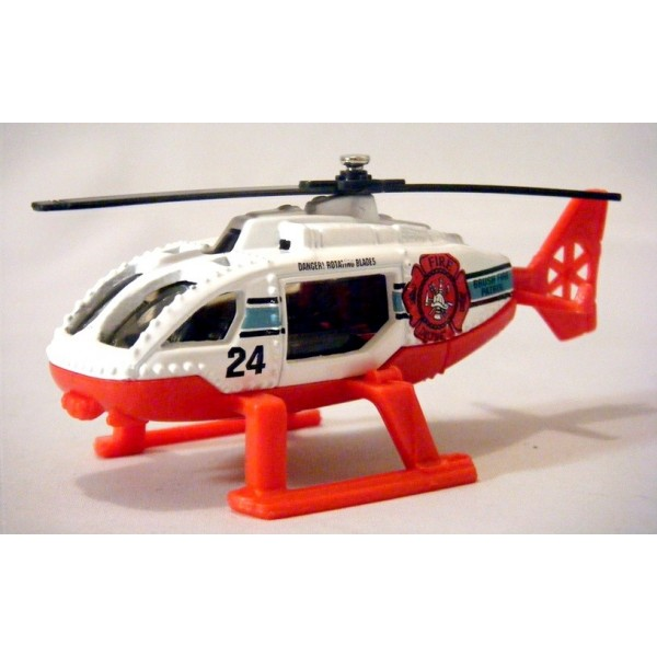 Matchbox Brush Fire Patrol Helicopter Global Diecast