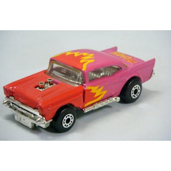 Chevrolet Del 57 >> Matchbox Color Changers - 1957 Chevy Belair - Global Diecast Direct