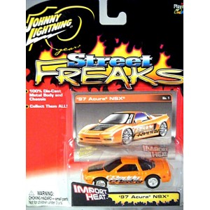 Johnny Lightning Import Heat Acura NSX Supercar