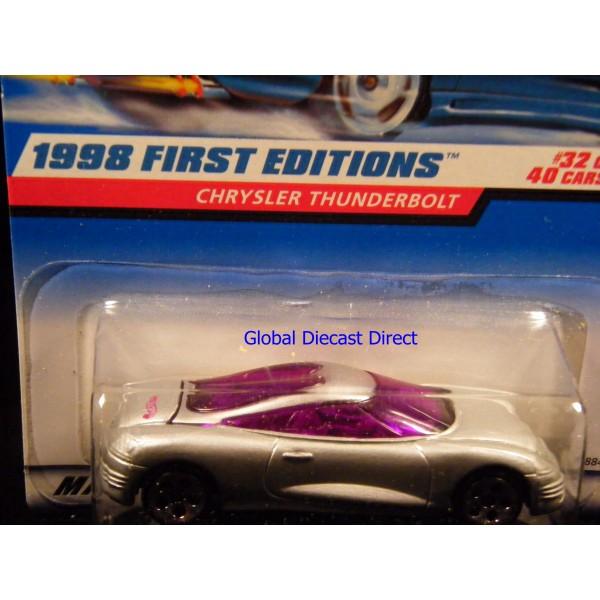hot wheels 1998 first editions - chrysler thunderbolt - global